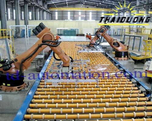 Cải tiến dây truyền sản xuất tự động
